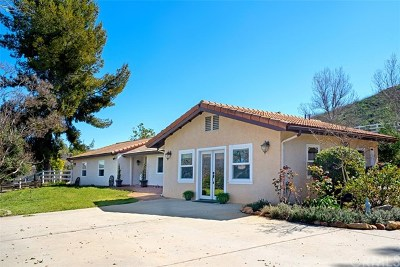 Murrieta Single Family Home For Sale: 38800 Avenida La Cresta