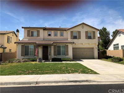 Winchester Single Family Home For Sale: 34815 Grotto Hills Drive