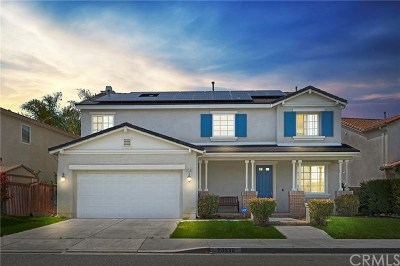 Menifee Single Family Home For Sale: 29530 Camino Cristal