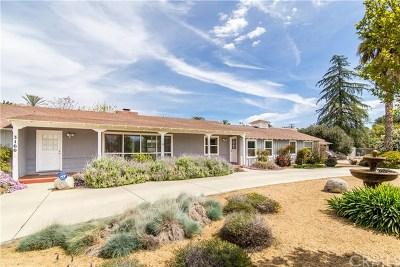 Hemet Single Family Home For Sale: 3160 Vista Way