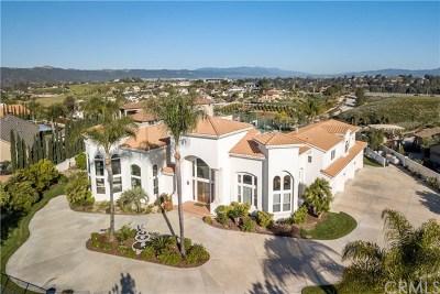 Temecula Single Family Home For Sale: 31265 Sierra Bonita