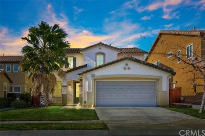 Beaumont Single Family Home For Sale: 36768 Torrey Pines Drive