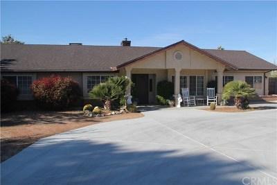 Yucca Valley Single Family Home For Sale: 57766 El Dorado Drive