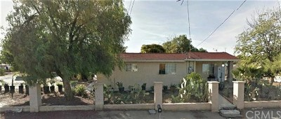 Perris Single Family Home For Sale: 18519 Decker Road