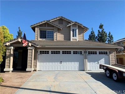 Murrieta Single Family Home For Sale: 39850 Brandy Lane