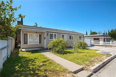 Anaheim Single Family Home For Sale: 308 W Vermont