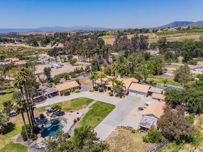 Temecula CA Single Family Home For Sale: $1,249,800