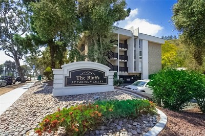 San Diego Condo/Townhouse For Sale: 6416 Friars Road #206