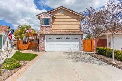 Temecula CA Single Family Home For Sale: $395,000
