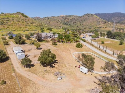 Fallbrook Single Family Home For Sale: 40790 Via De La Roca