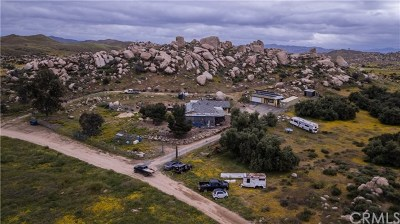 Perris Single Family Home For Sale: 19205 Santa Rosa Mine Road