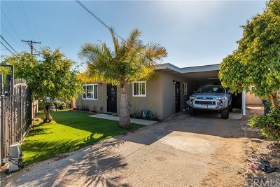 Vista Single Family Home For Sale: 712 N Citrus Avenue