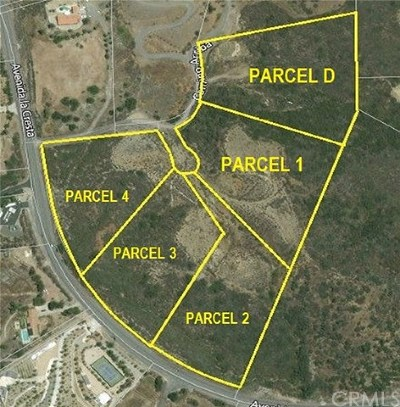 Murrieta Residential Lots & Land For Sale: Camino Arriba 930-140-014