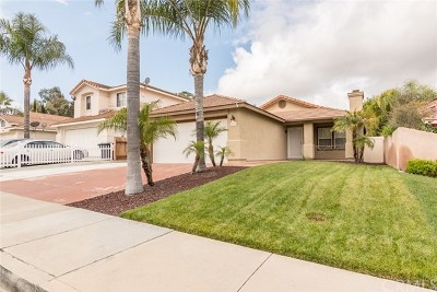 Temecula Single Family Home For Sale: 44539 Lauriano Drive