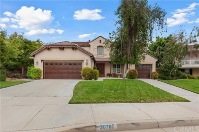 Murrieta Single Family Home For Sale: 30787 Bow Bridge Drive