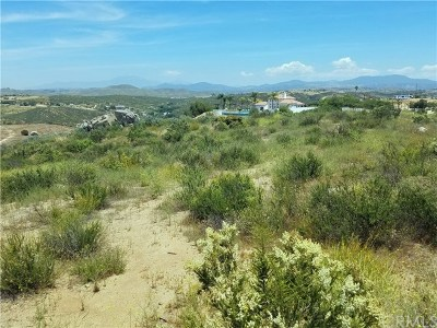 Temecula Residential Lots & Land For Sale: Cumbre Road