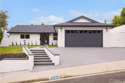 Laguna Niguel  Single Family Home For Sale: 29371 Via Portola
