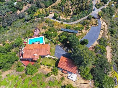 Fallbrook Single Family Home For Sale: 39186 Daily Road