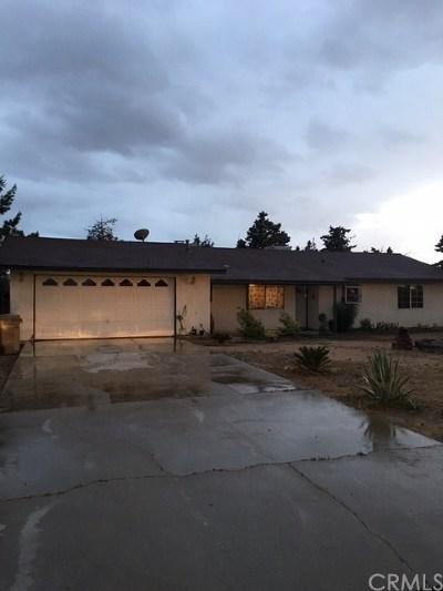 Hesperia Single Family Home For Sale: 14993 Wells Fargo Street