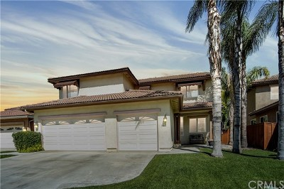 Riverside, Temecula Single Family Home For Sale: 31431 Pennant Court