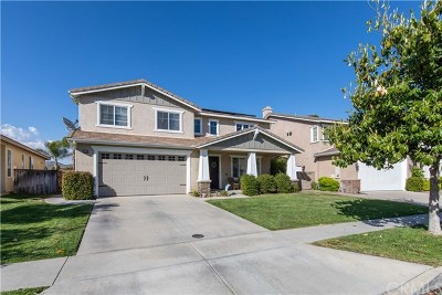 Murrieta Single Family Home For Sale: 23842 Via Alisol