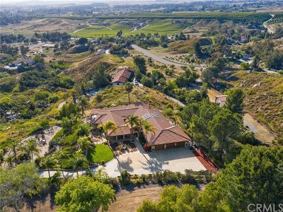 Temecula CA Single Family Home For Sale: $985,000