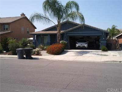 Perris Single Family Home For Sale: 1276 Blazing Star Drive