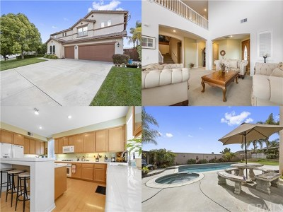 Wildomar Single Family Home For Sale: 35223 El Diamante Drive