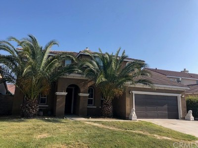 Perris Single Family Home Active Under Contract: 1469 Cheshire Drive