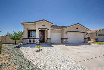 Victorville Single Family Home For Sale: 17623 High Bluff Court