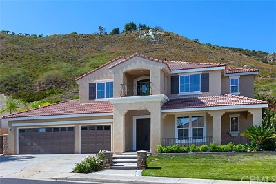 Murrieta Single Family Home Active Under Contract: 23850 Hollingsworth Drive