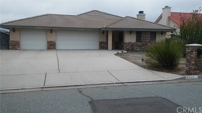 Hemet, San Jacinto Single Family Home For Sale: 3778 English Drive