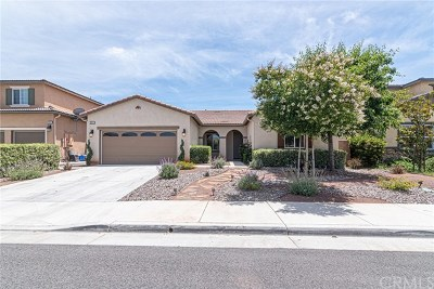 Murrieta Single Family Home For Sale: 30919 Snowberry