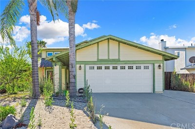 Menifee CA Single Family Home For Sale: $300,000