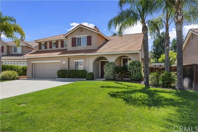 Riverside County Single Family Home For Sale: 43119 Pudding Court