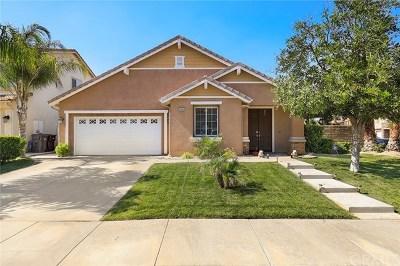 Menifee CA Single Family Home For Sale: $439,900