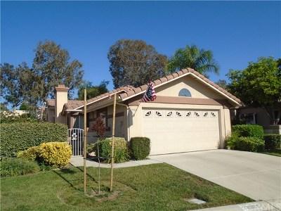 Murrieta Single Family Home For Sale: 39988 Corte Lorca