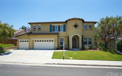 Temecula Single Family Home For Sale: 32215 Via Bejarano