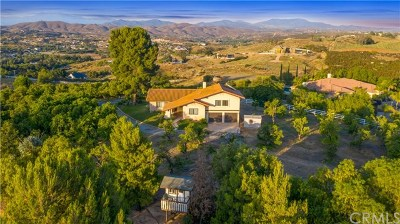 Temecula Single Family Home For Sale: 38060 Mesa Road