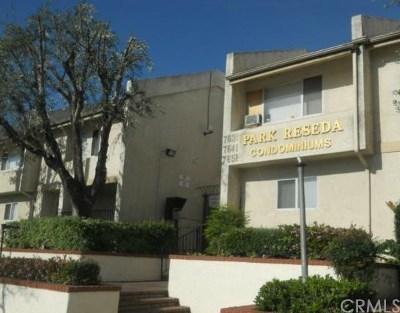 Reseda Condo/Townhouse For Sale: 7631 Reseda Boulevard #77-X
