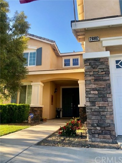 Menifee Single Family Home For Sale: 28802 First Star Court