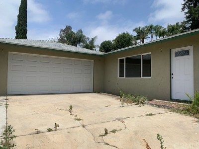 Corona Single Family Home For Sale: 7720 Grandview Street