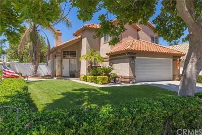Murrieta Single Family Home For Sale: 24412 Calle Tassjara