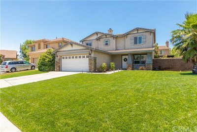Menifee Single Family Home For Sale: 33159 Aquamarine Circle