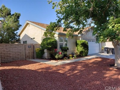Palmdale, Lancaster, Quartz Hill, Rosamond, Pearblossom, Lake Los Angeles, Juniper Hills, Leona Valley, Lake Elizabeth, Antelope Acres, Lake Hughes, Green Valley, Llano, Littlerock Single Family Home For Sale: 2873 Nandina Drive