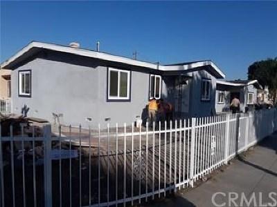 Compton Multi Family Home For Sale: 16113 S Essey Avenue