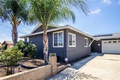Lemon Grove Single Family Home For Sale: 1860 Primera Street