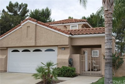 Menifee Single Family Home For Sale: 28548 Champions