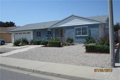 Menifee Single Family Home For Sale: 26090 Saint Marys Street