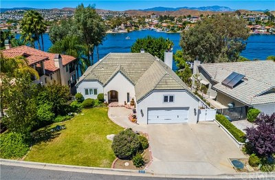 Canyon Lake Single Family Home For Sale: 22376 San Joaquin Drive W